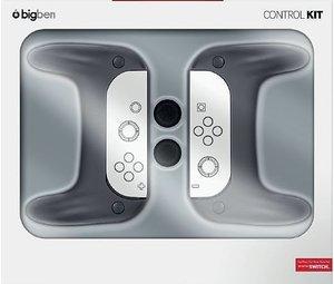 CONTROL KIT für Nintendo Switch, Grip-Set (2 Stück) NSW, schwarz