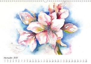 Blumen Blüten Aquarelle
