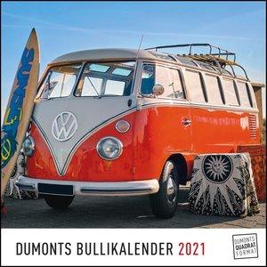 DUMONTS Bulli-Kalender 2021 - VW-Bus, Oldtimer, Retro - 24 x 24