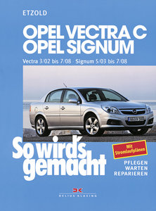 So wird's gemacht. Opel Vectra C ab 3/02 , Opel Signum ab 5/03
