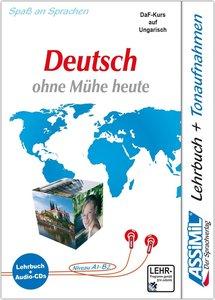 Assimil-Methode. Deutsch ohne Mühe heute für Ungarn. Lehrbuch un