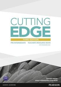 Cutting Edge Pre-Intermediate Teacher's Book (with Resources CD-