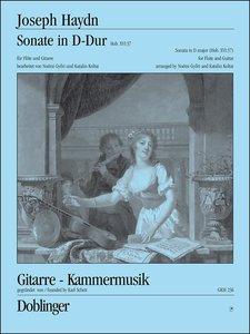 Sonate in D-Dur Hob. XVI:37