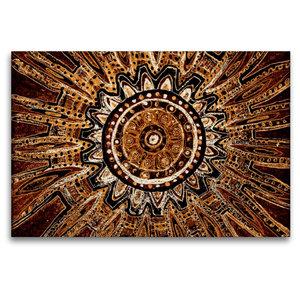 Premium Textil-Leinwand 120 cm x 80 cm quer Ausbruch