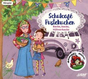Schulcafé Pustekuchen 2: Backe, backe, Hühnerkacke, 1 Audio-CD