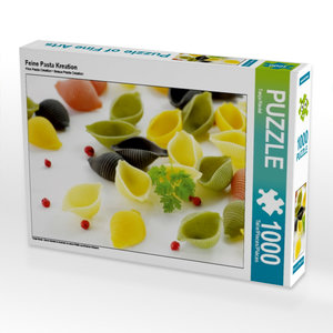 Feine Pasta Kreation 1000 Teile Puzzle quer