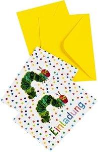 Raupe Nimmersatt - Meine Einladungskarten