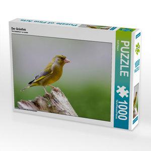 Der Grünfink 1000 Teile Puzzle quer