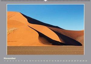Namibia - Die Farben der Namib (Wandkalender immerwährend DIN A2
