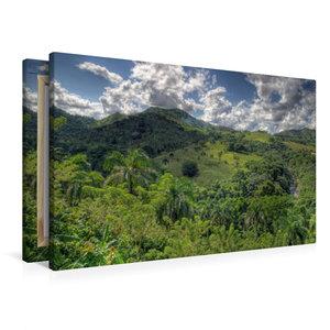 Premium Textil-Leinwand 90 cm x 60 cm quer in der Nähe von Higüe