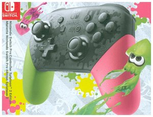 Nintendo Switch Pro Controller, Splatoon 2 Edition