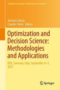 Optimization and Decision Science Methodologies and Applications