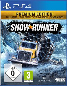 SnowRunner, 1 PS4-Blu-ray Disc (Premium Edition)