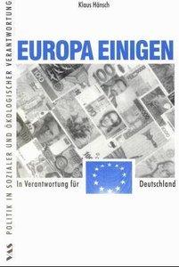 Europa einigen