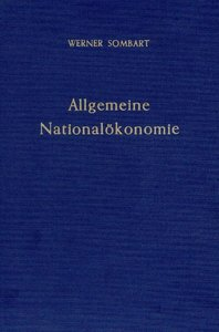 Allgemeine Nationalökonomie