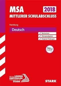 Mittlerer Schulabschluss Hamburg 2018 - Deutsch