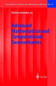 Advanced Mathematical and Computational Geomechanics