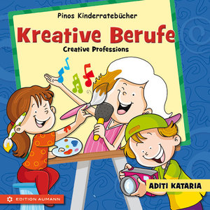Pinos Kinderratebücher: Kreative Berufe - Creative Professions
