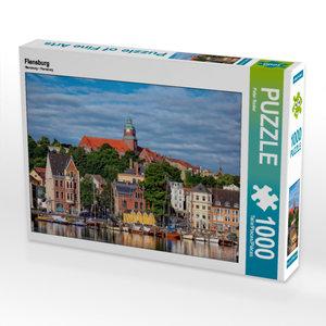 CALVENDO Puzzle Flensburg 1000 Teile Lege-Größe 64 x 48 cm Foto-
