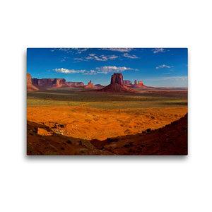 Premium Textil-Leinwand 45 cm x 30 cm quer Monument Valley, Ariz