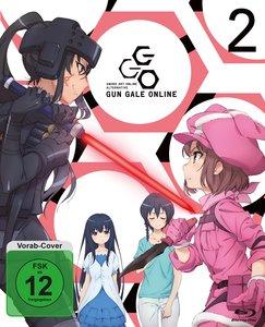Sword Art Online Alternative: Gun Gale Online - Blu-ray 2 (Ep 6-
