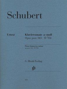 Klaviersonate a-moll op. post. 143 D 784