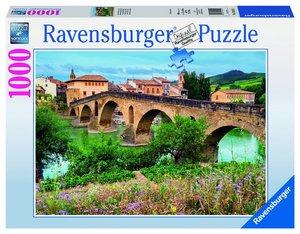 Puente la Reina, Spanien. Puzzle 1000 Teile