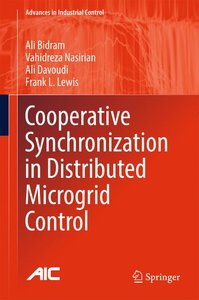 Cooperative Synchronization in Distributed Microgrid Control