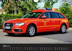 Einsatzfahrzeuge (Wandkalender 2019 DIN A4 quer)