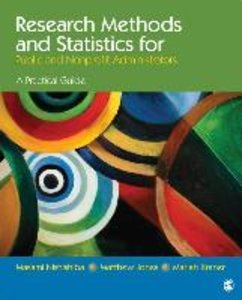 Research Methods and Statistics for Public and Nonprofit Adminis