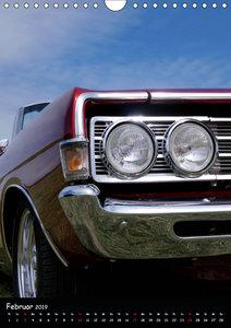 Ungewöhnliche Ansichten - Amerikanische Autoklassiker (Wandkalen