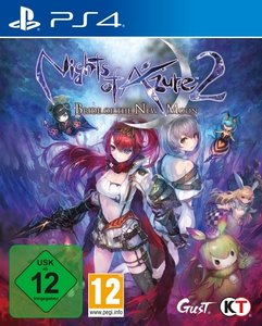 Nights of Azure 2: Bride of The New Moon, 1 PS4-Blu-Ray Disc