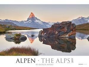 Alpen 2019 - XL-Bildkalender