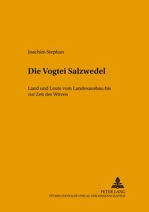 Die Vogtei Salzwedel