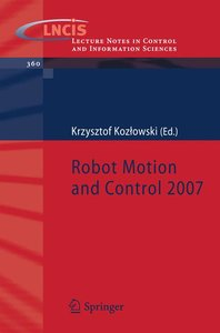 Robot Motion and Control 2007