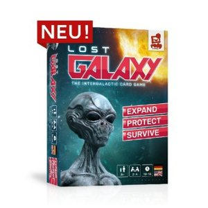 LOST GALAXY The intergalactic card game