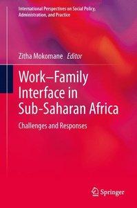 Work-Family Interface in Sub-Saharan Africa
