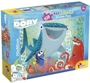 Finding Dory (Kinderpuzzle), Double Face Supermaxi 108 Dory All