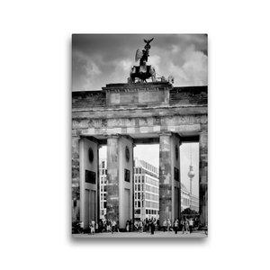Premium Textil-Leinwand 30 cm x 45 cm hoch BERLIN Brandenburger