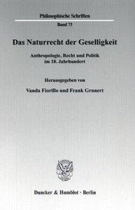 Das Naturrecht der Geselligkeit