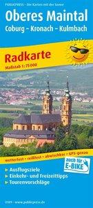 Oberes Maintal /Coburg - Kronach - Kulmbach 1:75 000