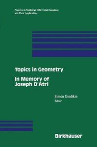 Topics in Geometry