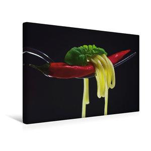 Premium Textil-Leinwand 45 cm x 30 cm quer Rote Chili