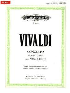 Konzert für Violine, Streicher und Basso continuo op. 7 Nr. 2 (2