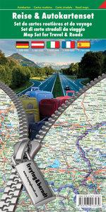 Reise- und Autokartenset