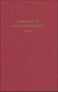 Geschichte der Musiktheorie / Deutsche Musiktheorie des 15. bis