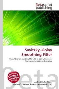 Savitzky Golay Smoothing Filter