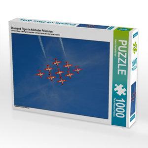 Diamond Figur in höchster Präzision 1000 Teile Puzzle quer