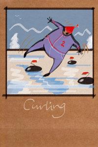 Premium Textil-Leinwand 50 cm x 75 cm hoch Curling