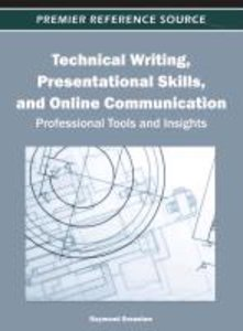 Technical Writing, Presentational Skills, and Online Communicati